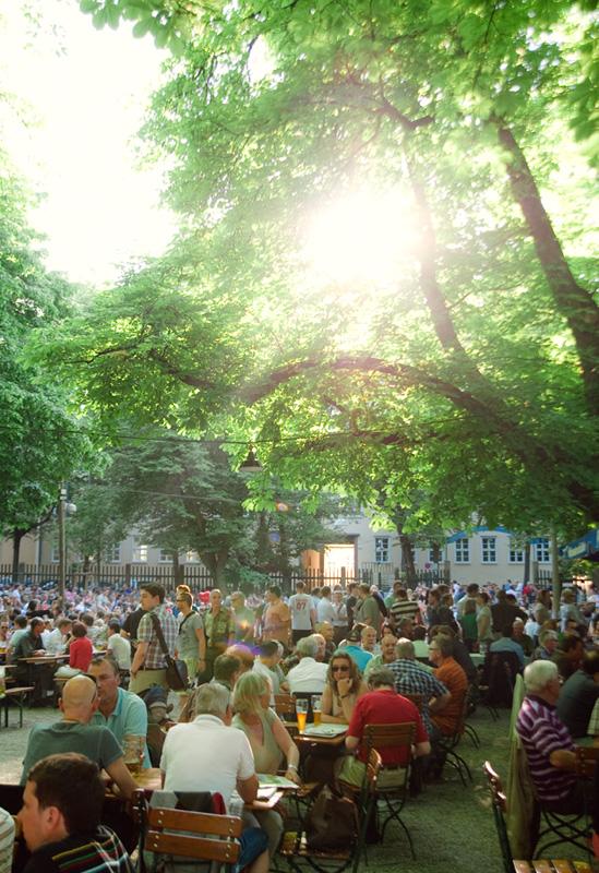 Augustiner Biergarten Munich
