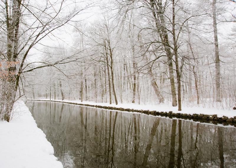 Nymphenburg Schloss Canal