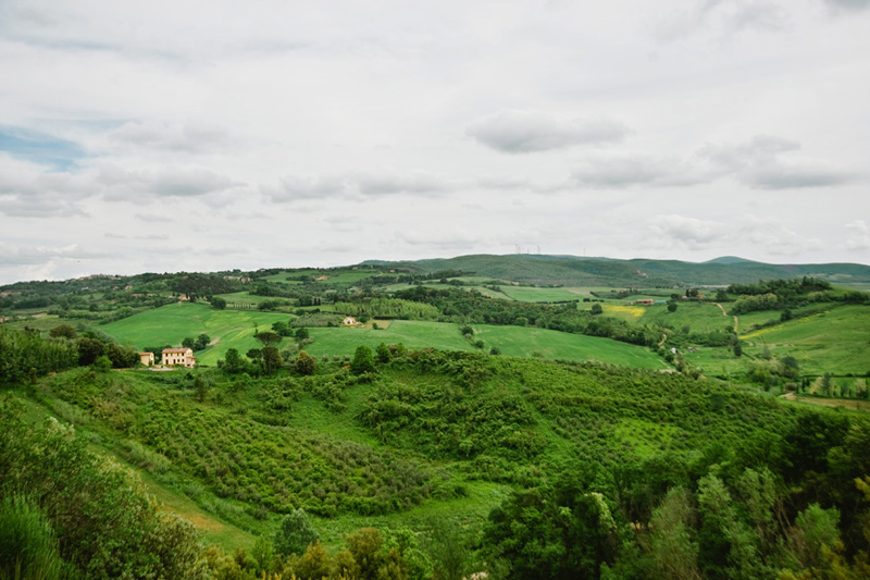 Tuscan Hillsides in Spring