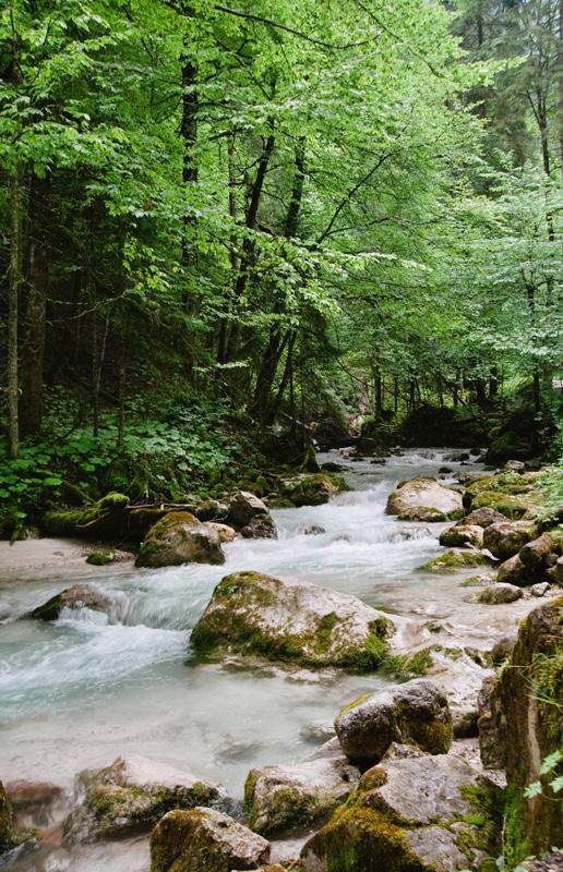 Hoellentalklamm River