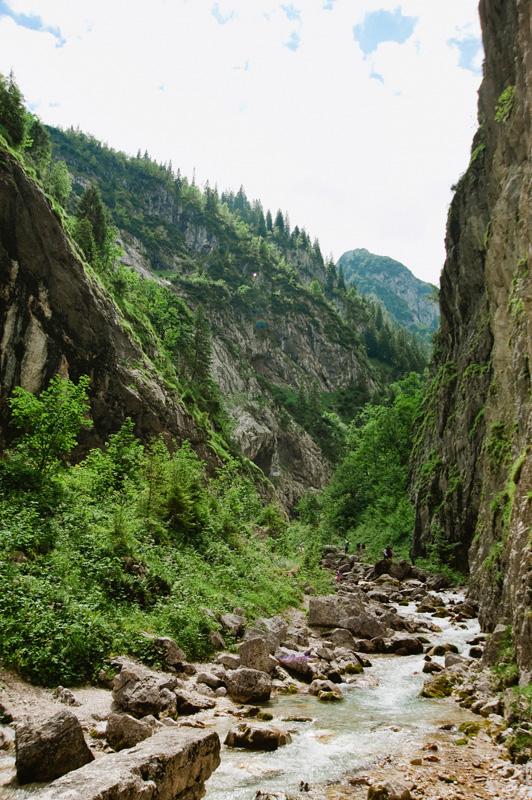 Hoellentalklamm Valley