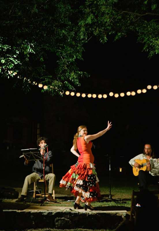 Alajar Flamenco Dancer