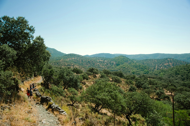 Alajar Spain Hiking