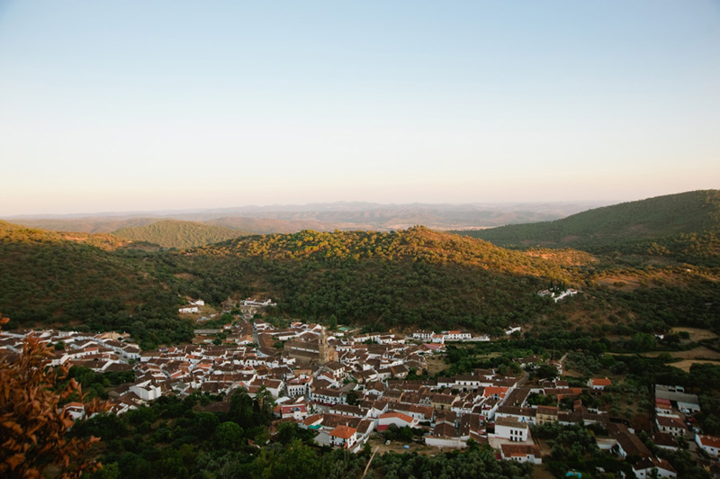 Alajar from above